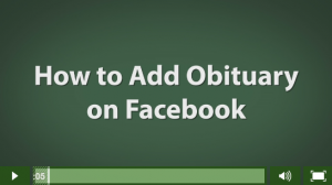 Add An Obituary To Facebook upcoming events blog articles